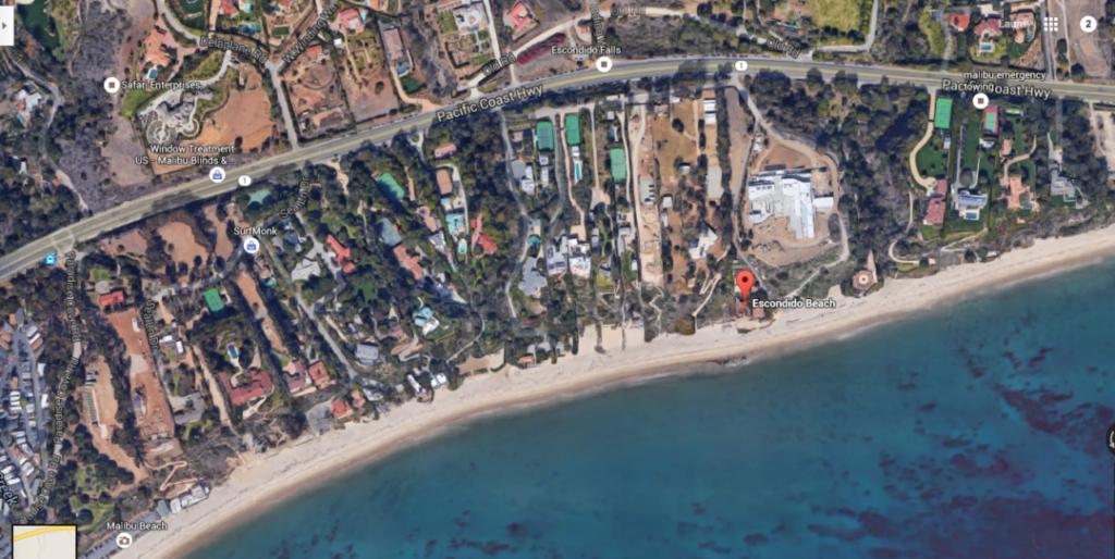 Escondido Beach Road Malibu Ca
