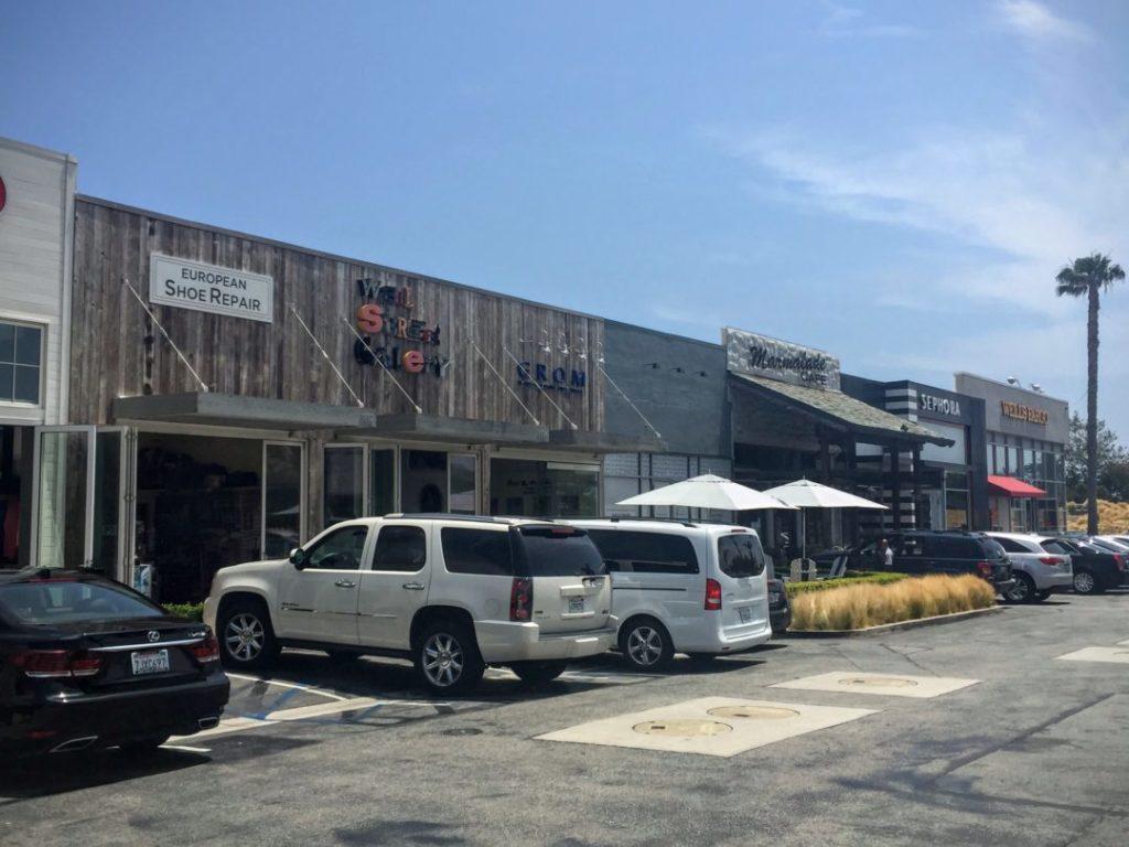 Shopping in Malibu Malibu village