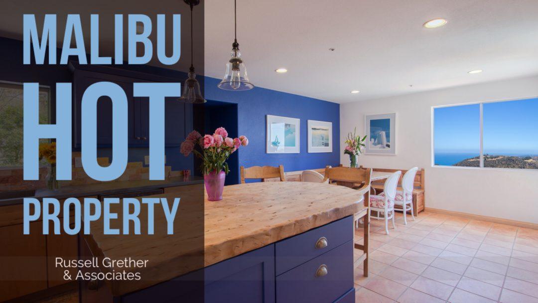 Malibu Hot Property: Modern Malibu Home with Ocean Views