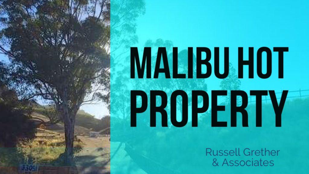 Malibu land for sale Mulholland Highway