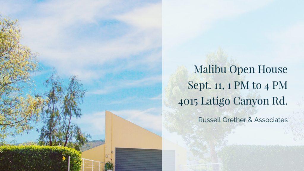 Malibu Open House 4015 Latigo canyon Rd. Malibu