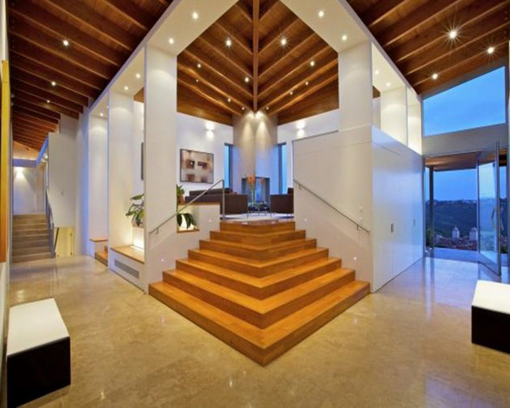 soaring ceilings are a key component of luxury Malibu real estate