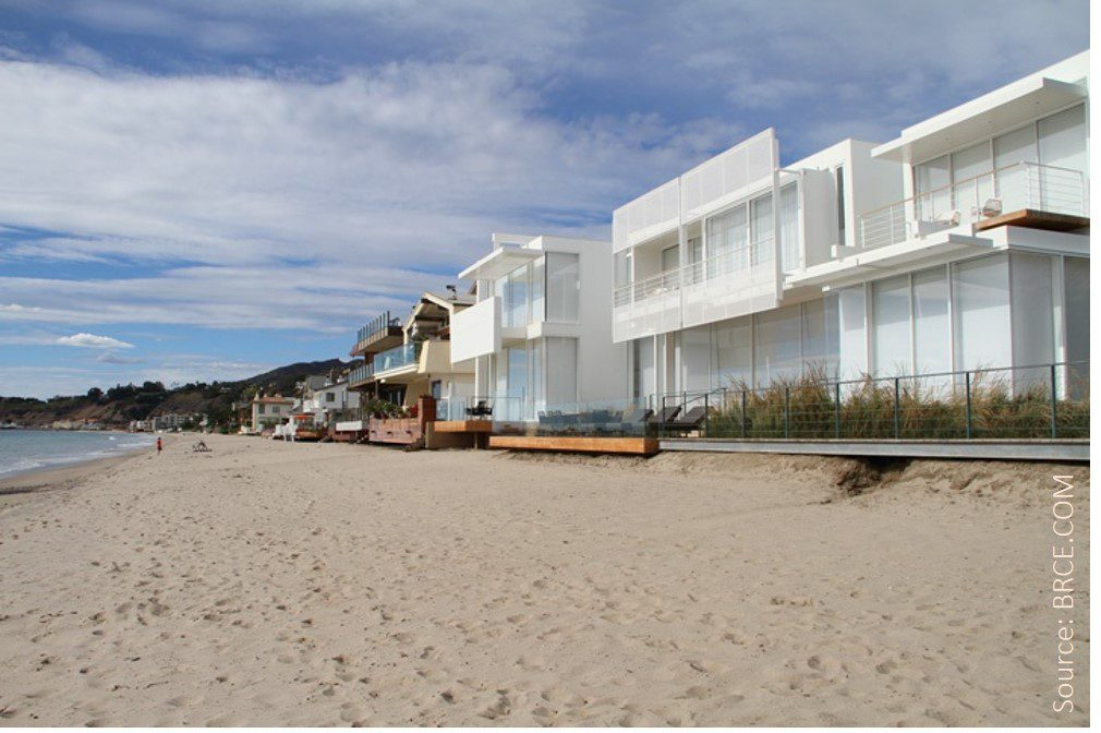 Carbon Beach features some of the most luxurious Malibu estates