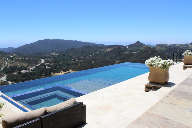 Malibu luxury pools